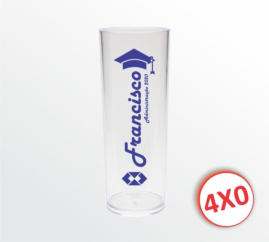 Long Drink Transparente - 330 ml - 11 a 30 un.