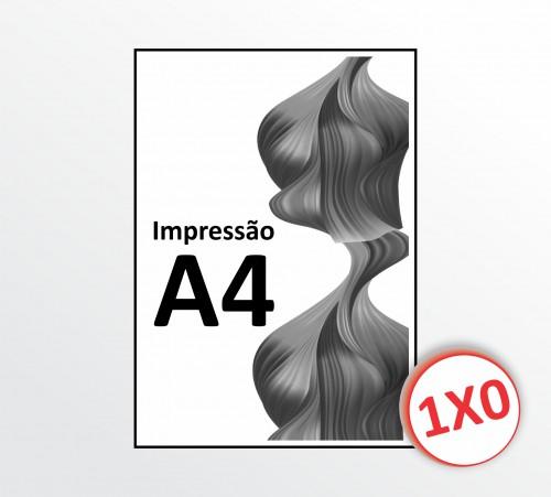 A4 - Sulfite 75 g - Impressão P&B