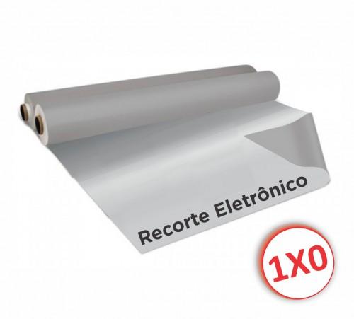 Prata - Adesivo em Recorte Eletrônico