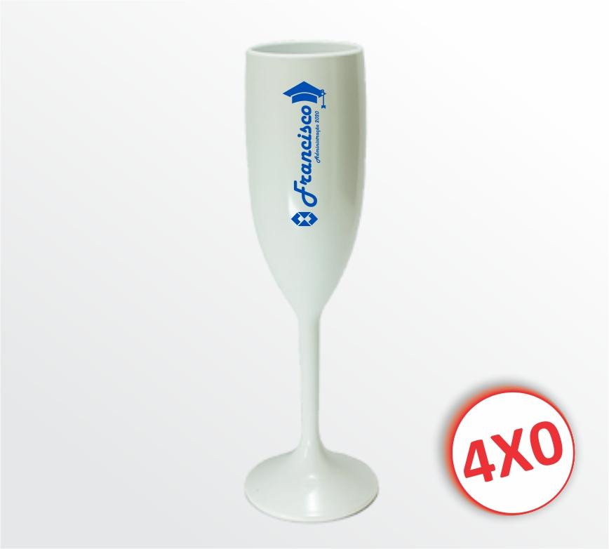 Taça Plástica Branca - 170 ml - mínimo 10 un.