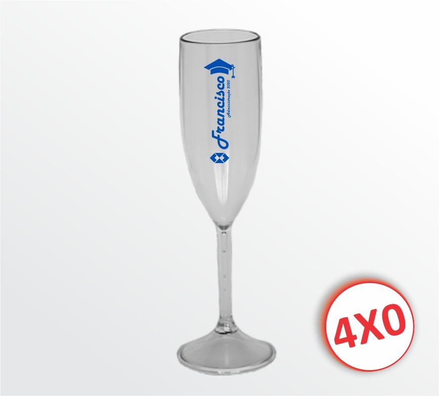 Taça Plástica Transparente - 170 ml - mínimo 10 un.