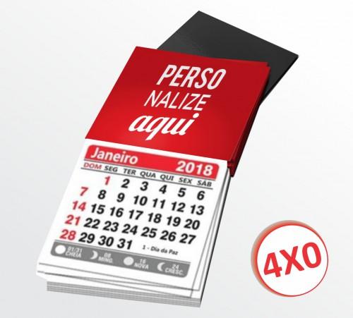 Imã de Geladeira - Corte Reto - 1000 un. com Calendário
