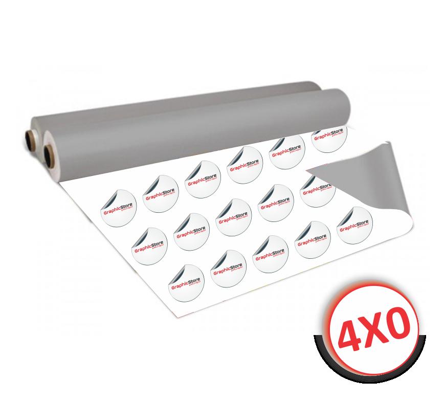 Adesivo transparente com recorte especial