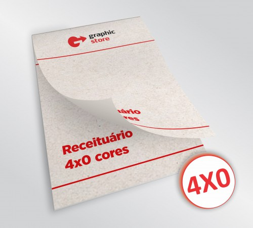 Receituário 14x20cm - color jato - 01 bloco - papel reciclado