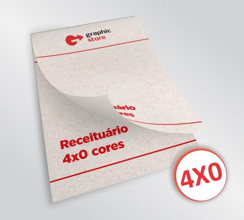 Receituário 14x20cm - color jato - 05 blocos - papel reciclado