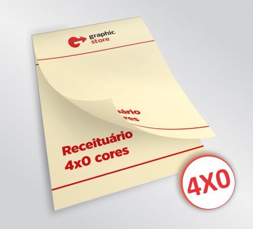 Receituário 14x20cm - laser color - 03 blocos - papel marfim 90g