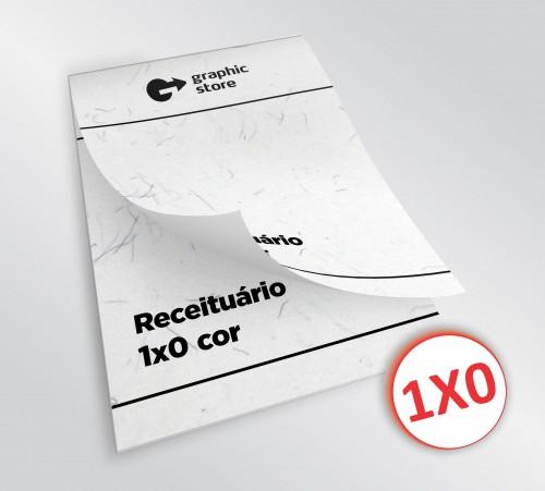 Receituário 14x20cm - preto - papel giz - 02 blocos