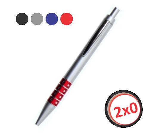 500 canetas - modelo 1855 - 02 cores