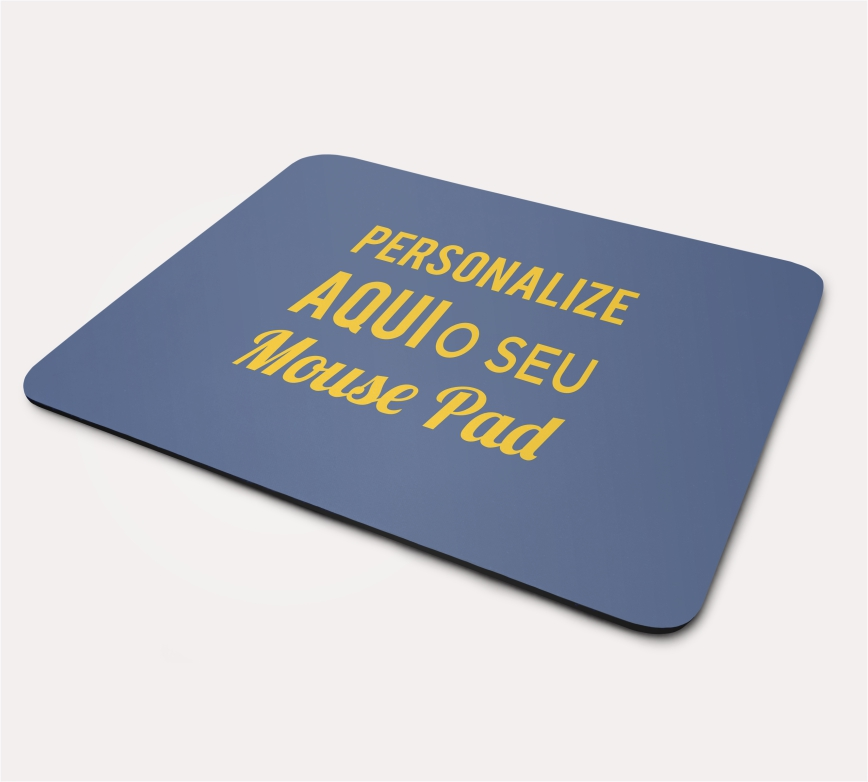 Mouse Pad Retangular - 11 a 30 unidades